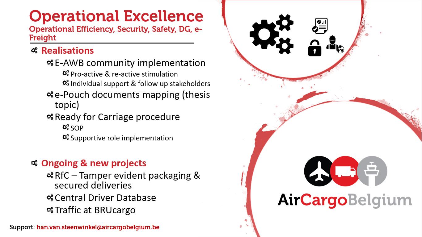 Air Cargo Belgium | Workgroups